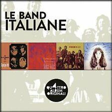 LE BAND ITALIANE - QUATTRO ALBUM ORIGINALI  -4CD