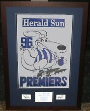 North Melbourne 1996 Weg Tribute *Signed*
