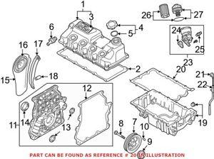 Genuine OEM Engine Oil Pan Gasket for Mini 11131487221