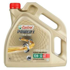 Huile castrol POWER 1 RACING 10W50 4 LITRES