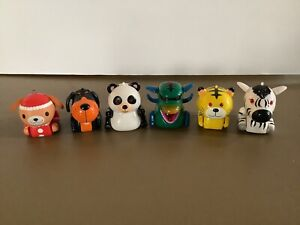 Lot Of 6 Tomy Micropets
