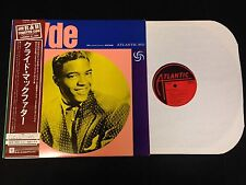 JAPANESE PRESSING WITH OBI Clyde McPhatter Atlantic 4584 Self Titled