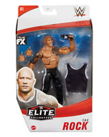 WWE the rock elite collection Series 81 Action Figure Brand New