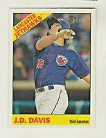 2015 Topps Heritage Minors #66 JD DAVIS RC Rookie New York Mets