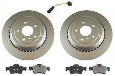 Mercedes W164 ML500 2006-2007 Rear Disc Brake Rotors Pads Sensor Kit Best Value