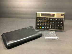 HP 12C Hewlett Packard RPN Scientific Calculator USA Vintage Tested      7190