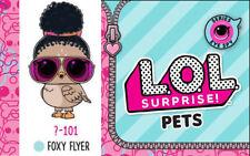 Lol Surprise Eye Spy Pets Series 4 Wave 2 Foxy Flyer Bird New Sealed, In Hand!
