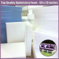 sheets foam seat pads cut to size PINK REFLEX MEDIUM Upholstery foam cushions