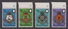 Ascension - 1973 Royal Navy Crests Set. Sc.#166-9, SG#166-9. Mint NH
