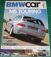 BMW Car July 2007 - E92 M3 - E60 M5 Touring vs E38 M5 Touring - E28 M5