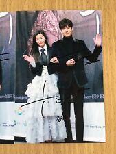 Jeon Ji Hyeon Lee Min Ho Duo Combo 4x6 Photo Autograph hand signed USA Seller 4