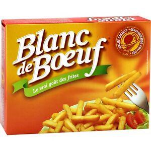 Graisse de boeuf à frire - Vandemoortele Blanc de Boeuf - 4 x 250 gsoit 1 kg