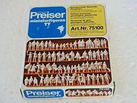 PREISER ( 75100 ) 72 PERSONNAGES PASSAGERS OU PASSANTS A PEINDRE ECHELLE TT1/120