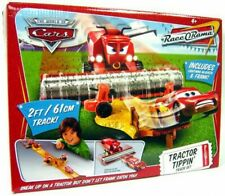 The World of Cars Race-O-Rama Tractor Tippin' Diecast Car Track Set