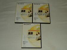 Sony DVD-RW Discs 4.7GB 120min Re-Recordable - Bundle Of 3