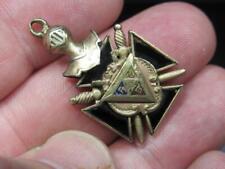 Fraternal Knights of Pythias Pocket Watch FOB Charm FCB (19C3)