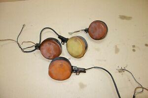 MZ 250 251 151 etz mz250 mz251 etz  IFA set of indicators indicator lights