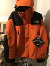 NWT The North Face 1990 Mountain GTX Jacket Gore Tex Supreme Orange Men's Large