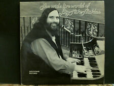 BIG MIKE NICKLAS The Wide Live World  LP  Private  Synth Lounge   Signed photo