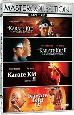 Karate Kid 1 2 3 4 - Collection - 4 DVD Box - Deutscher Ton - NEU + OVP next 1-4
