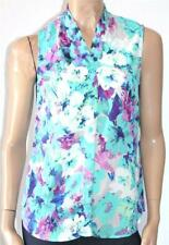 Millers Brand Tropical Floral Sleeveless Shirt Size 10 BNWT [sv02]