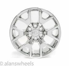 "4 NEW Chevy Silverado Avalanche Chrome 20"" Wheels Rims Lugs Free Shipping 5656"