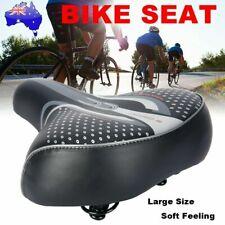 Big Wide Bum Saddle Seat Bike Bicycle Gel Cruiser Extra Comfort Sporty Soft Pad