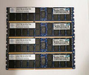 HP NANYA 64GB (4x16GB) DDR3 PC3L-10600 1333MHz ECC SERVER RAM NT16GC72C4NB0NL-CG