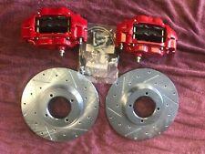 Triumph TR6, TR250, TR4, TR4A Performance Big Brake Kit, Calipers, Rotors, Hoses