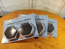 Furniture Sliders 4 Pieces for Moving Sofas/Other Heavy Furniture(12) Lot Of 3