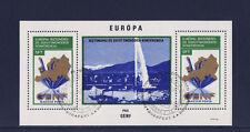 Hongrie  bloc  Europa  sécurité  Geneve   1974   num: BF 109  oblitéré