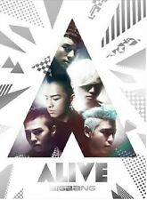 KPOP BIGBANG ALIVE Box Set (CD + DVD) Limited Ed. [Promo] Japan Release
