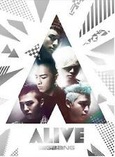 KPOP BIGBANG ALIVE Box Set (CD + DVD) Limited Ed. [Promo] Japan Release