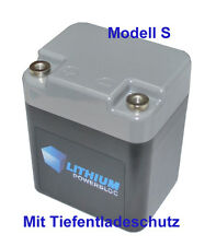 Lithium POWERBLOC 3.3 S avec BMS LiFePO 4 Batterie 13,2 V 3,3ah 4s3p a123 apr18650m1