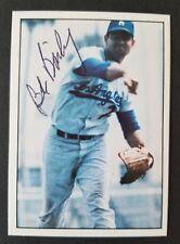 Bob Bailey 1981 TCMA 1960's Signed Card #310 AUTO - Dodgers - 1969 Expos d.2018