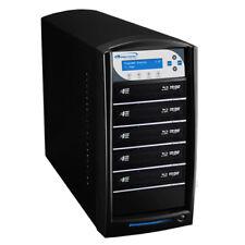 SharkBlu 1-5 Blu-Ray DVD CD Duplicator 500GB HDD USB Pioneer Burner BD-PIO-5-BK