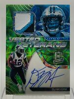 DJ Moore 2020 Spectra Vested Veteran Auto Relic Carolina Panthers #'d 09/25!