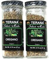 2 Count Terana 0.74 Oz Select Herbs Oregano Add To Sauces Meat Pasta Exp 9/2021