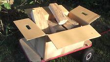 31 Kg Brennholz Kaminholz Buche  trocken im Karton ca.  30 Kg