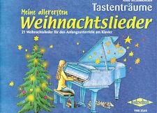 Klavier Noten : Meine allerersten Weihnachtslieder Anfänger sehr leicht VHR3540