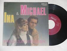 """MICHAEL & INA -Frech zum Verlieben- 7"""" 45 auf Amiga"""