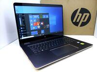 "HP Spectre X360 Touch 15.6"" UHD 4K - i7-7500u 2.7Ghz - 16GB - 512GB SSD - Nvidia"