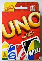 Uno Card Game Playing Cards NEW