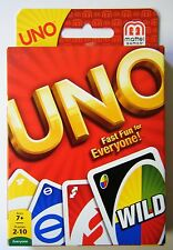 Uno Card Game 10 x Packs Playing Cards NEW