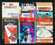 AHL PROGRAMS-GUIDES-MAGAZINES-CALDER CUP ~ 19 DIFFERENT ~ 1946-1980
