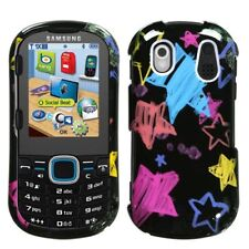 Black Chalk Star Case Cover Samsung Intensity II U460