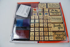 Rubber Stamp Kit Hobby Do's Greeting Card Creations