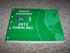 2012 Ford Fusion Electrical Wiring Diagram Manual S SE SEL Sport 2.5L 3.0L V6