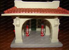 1920's Texaco Service Station, Houston TX (6th in Series) 2001 Porcelain Replica