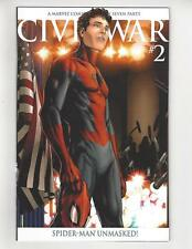 Civil War #2/Marvel Comic Book/Peter Parker Reveals ID to the World/2nd Print/NM